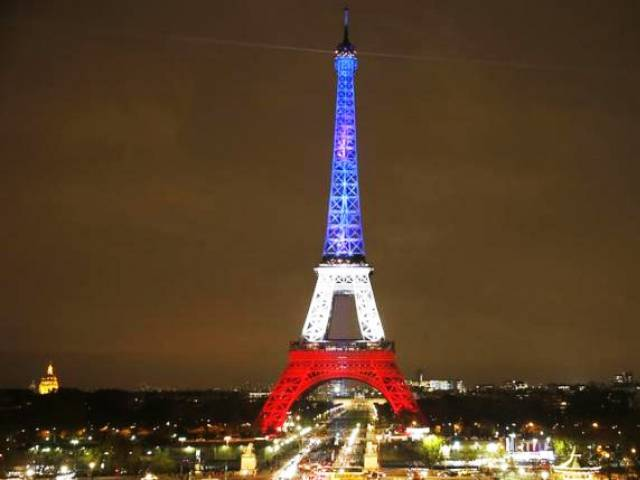 eiffel tower to don rainbow colours after orlando killings the express tribune. Black Bedroom Furniture Sets. Home Design Ideas