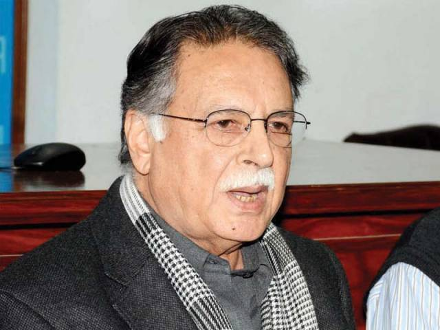 Information Minister Pervaiz Rashid. PHOTO: FILE