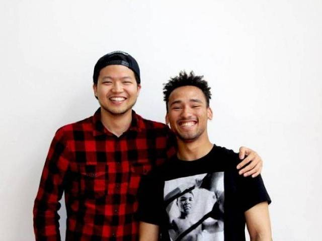 Ryan Kim (left) and Eliel Gordon, co-founders of FoundVisa. PHOTO: TECH IN ASIA.