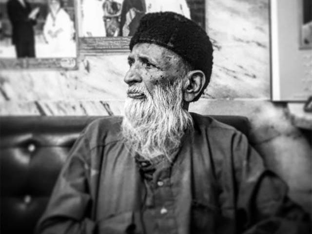 Rest in peace, Edhi sahab. PHOTO: HASSAAN KHAN/EXPRESS