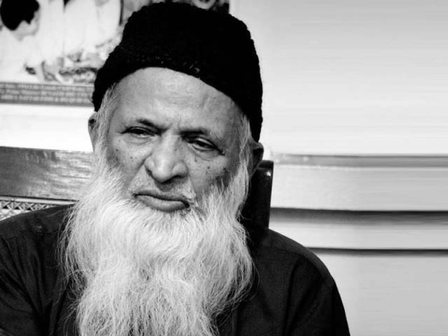 Abdul Sattar Edhi. PHOTO: FILE