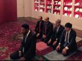 Imam Azhar Haneef leading Asr prayer in the China Room of the White House PHOTO: QASIM RASHID