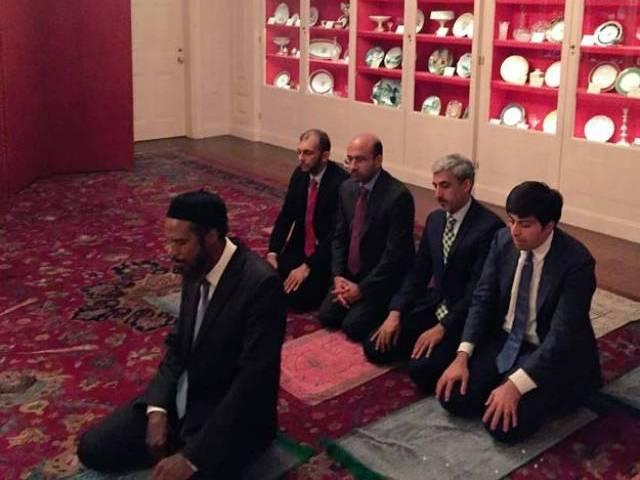 Image result for Muslim prayer room in White House