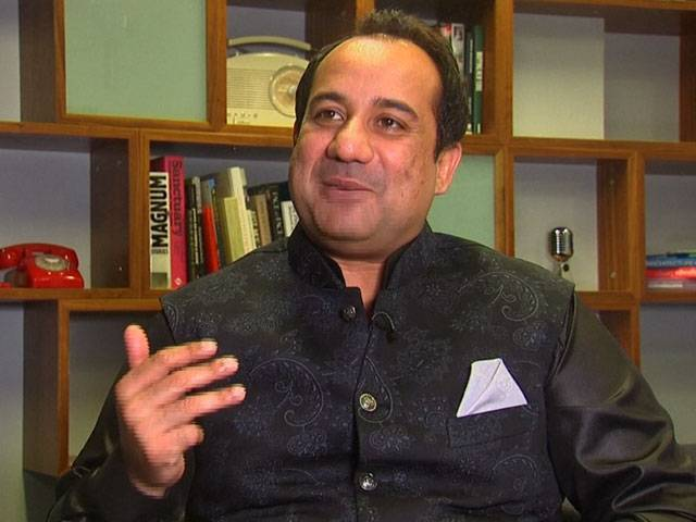 Rahat talks about what inspires him, his future ventures and the difference between working in Pakistan and India. SCREENGRAB