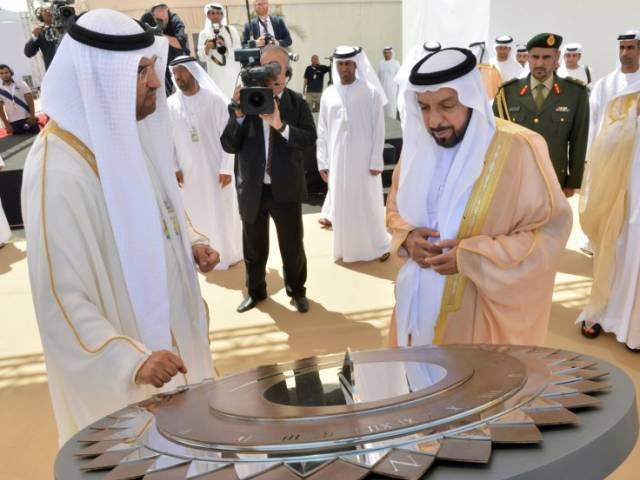 UAE President Sheikh Khalifa bin Zayed Al Nahyan (right) has issued new federal laws banning the use of VPNs in the country. PHOTO: REUTERS