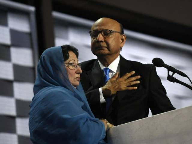 Muslim American Khizr Khan, whose son Humayun was killed while serving in the US Army. PHOTO: INUSANEWS