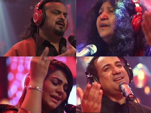 'Rahe Haq Ke Shaheedo' also features the late qawwal legend Amjad Sabri along with complete lineup.