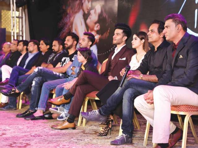 The music for ZKHH was launched in the presence of singers, cast and crew. PHOTOS: FILE