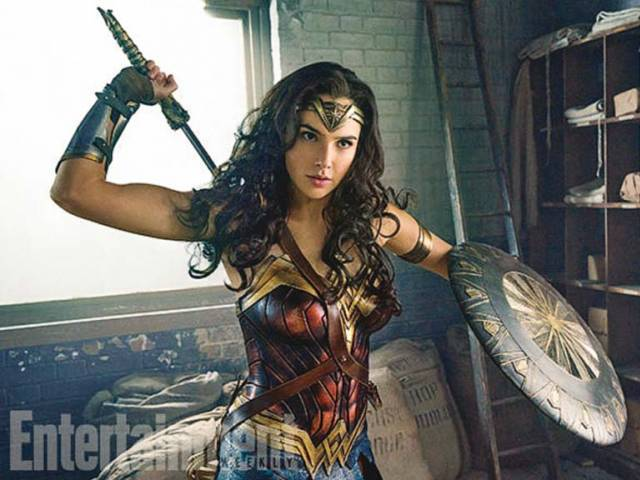 Starring Gal Gadot, Wonder Woman hits theatres June 2, 2017. PHOTO: FILE