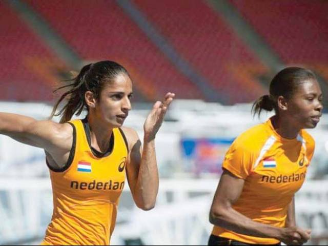 Madiea bagged a bronze medal in the 2011 European Athletics Junior Championships in Estonia, where she finished third in the women's 400m event. PHOTO COURTESY: MADIEA GHAFOOR