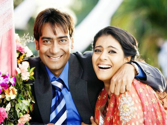 Kajol-Ajay real loving couple