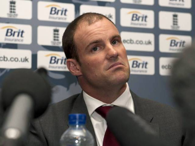 Andrew Strauss. PHOTO: REUTERS