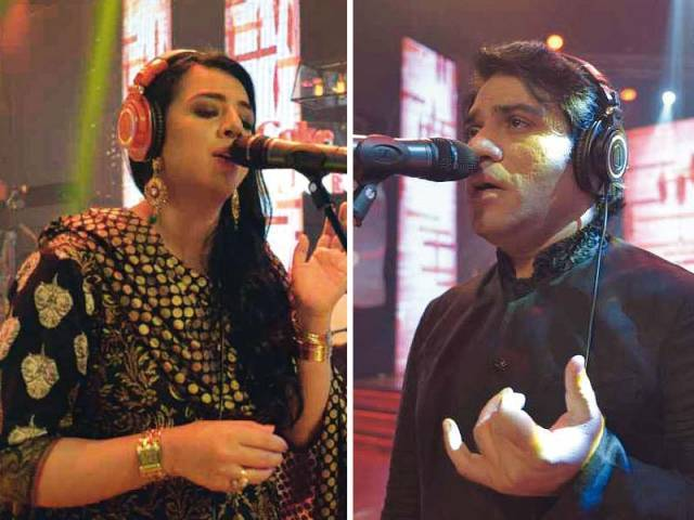 Earlier Javed Bashir used to dominate alone. This time, both he and Masooma Anwar dominate. PHOTOS: PUBLICITY