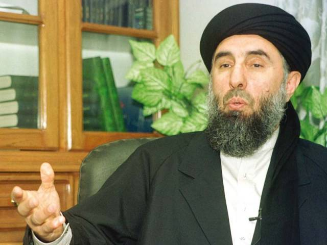 Hizb-e-Islami leader invites Taliban leaders for peace negotiations. PHOTO: FILE