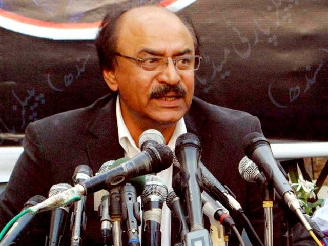 Sindh Parliamentary Affairs Minister Nisar Khuhro. PHOTO: EXPRESS/IRFAN ALI/FILE