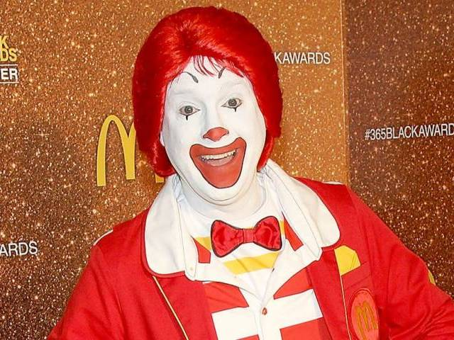 """This does not mean that there will be no appearances by Ronald McDonald, but that we are being thoughtful as to Ronald McDonald's participation in various community events at this time,"" Hickey said. PHOTO: TWITTER/@USWeekly"