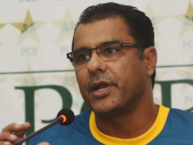 Waqar Younis used national side's 400th Test as occasion to announce his favourites. PHOTO: AFP