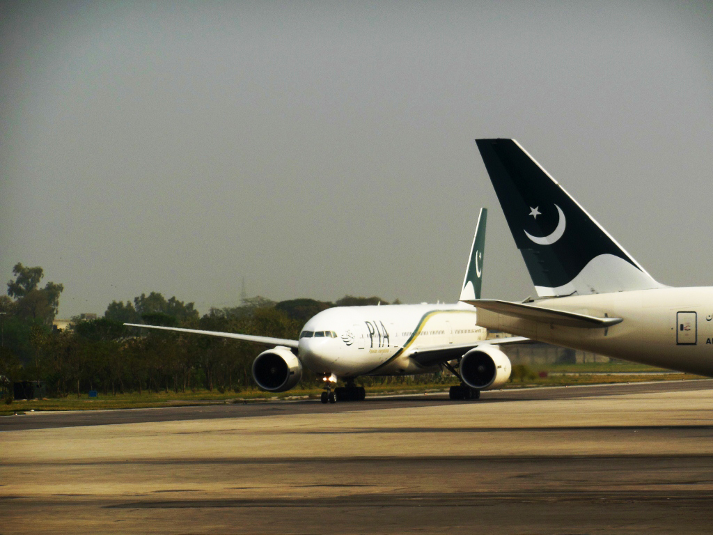 Chairman and CEO PIA take notice of the incident, say severe action would be taken against those found guilty. PHOTO: FAISAL MOIN/EXPRESS