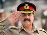 Army Chief General Raheel Sharif. PHOTO: AFP