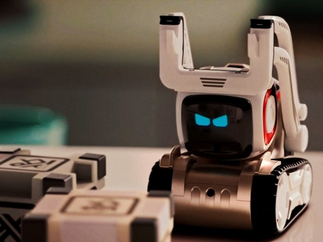 Cozmo's artificial intelligence program is based on human emotions. PHOTO: REUTERS
