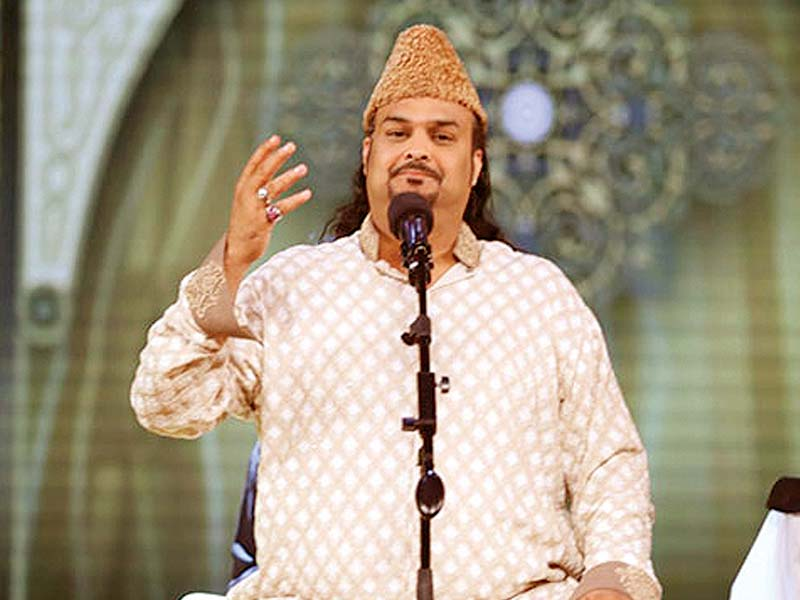 Amjad Sabri. PHOTO: PUBLICITY