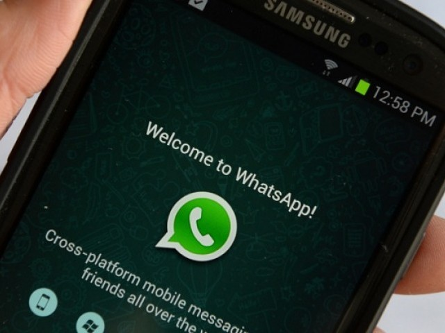 The startup allows you to pay bills or check your bank balance using WhatsApp and Facebook Messenger. PHOTO: AFP