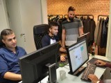 taha-jawad-integrify-ceo-rahman-and-amin-work-at-startup-integrifys-office-in-helsinki