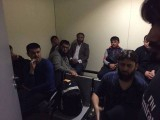 Pakistani nationals detained at Moscow airport. PHOTO: FACEBOOK