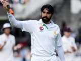 Misbah to return following father-in-law's death. PHOTO: AFP