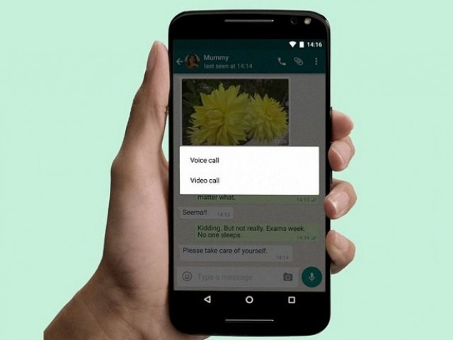 WhatsApp released its new video call feature last week. PHOTO: WHATSAPP