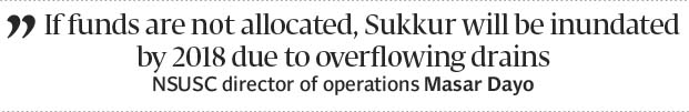 Sukkur (Pakistan) residents to get potable water by June, 2017