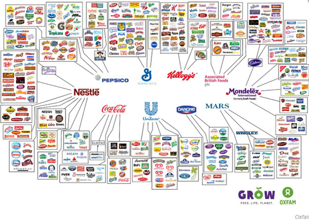 These 10 Companies Control Everything You Buy The