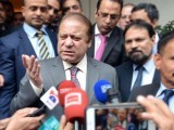 Court points out discrepancy in PM's speeches and written replies of family. PHOTO: APP