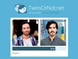 TwinsOrNot lets you compare the faces to see a degree of likeness. PHOTO: MICROSOFT