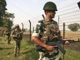 BSF chief claims troops would conduct strike upon noticing any sign of infiltration on surveillance radars. PHOTO: AFP
