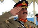 Chief of Army Staff General Raheel Sharif. PHOTO: ONLINE/FILE