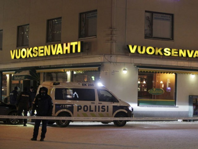 Finland mayor, two journalists shot dead