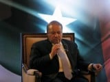 Pakistani Prime Minister Nawaz Sharif looks on during a lecture on Sri Lanka-Pakistan Relations in Colombo, Sri Lanka January 5, 2016. PHOTO: REUTERS