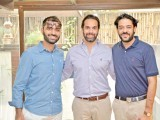 Mutahir Mahmood, Abbas and Azhar: HOME SWEET HOME, Sabah Gillani launches Serai, a lifestyle and concept e-store at a brunch in Karachi