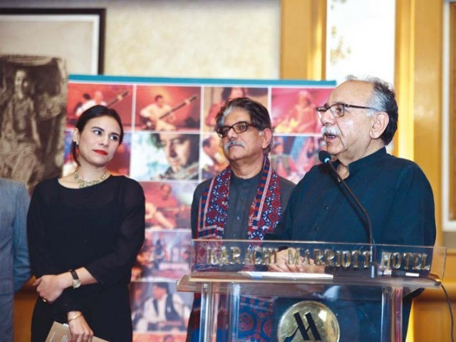 Zoe Viccaji, Sharif Awan and Arshad Mehmud have worked on Story of Gulsher together. PHOTO: PUBLICITY