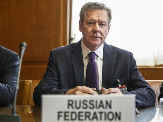 Russian Deputy Minister of Foreign Affairs Gennady Gatilov. PHOTO: REUTERS