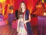 Maliha Ammar:DHOL BAAJAY, Mahvish Malik and Haider Abbas celebrate their upcoming wedding with a dholki in Lahore