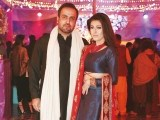Omar and Nadira Khalid: DHOL BAAJAY, Mahvish Malik and Haider Abbas celebrate their upcoming wedding with a dholki in Lahore