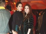 Areeba Asif and Aleena Azam: DHOL BAAJAY, Mahvish Malik and Haider Abbas celebrate their upcoming wedding with a dholki in Lahore