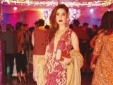 Izza Sami Khan: DHOL BAAJAY, Mahvish Malik and Haider Abbas celebrate their upcoming wedding with a dholki in Lahore