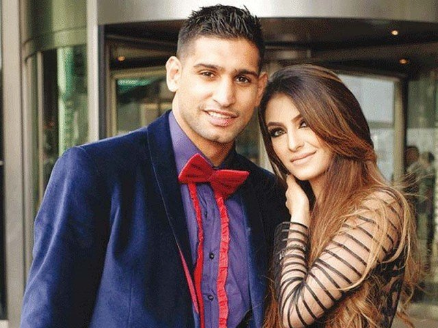 news article amir khan wife faryal family them