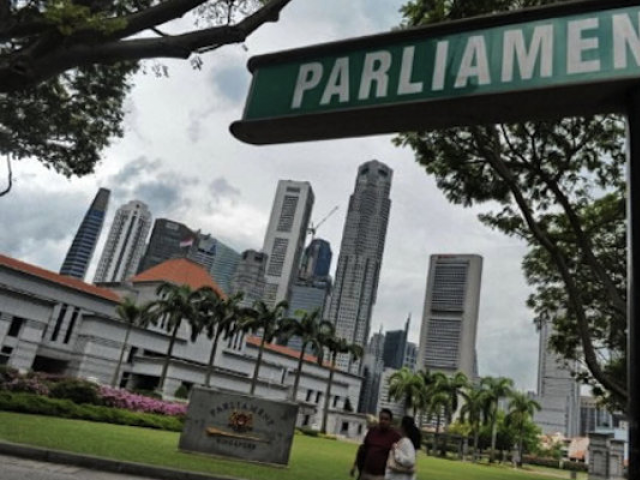 Singapore Parliament. PHOTO: AFP