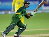Kamran Akmal plays a shot against Australia on September 5, 2012. PHOTO: AFP