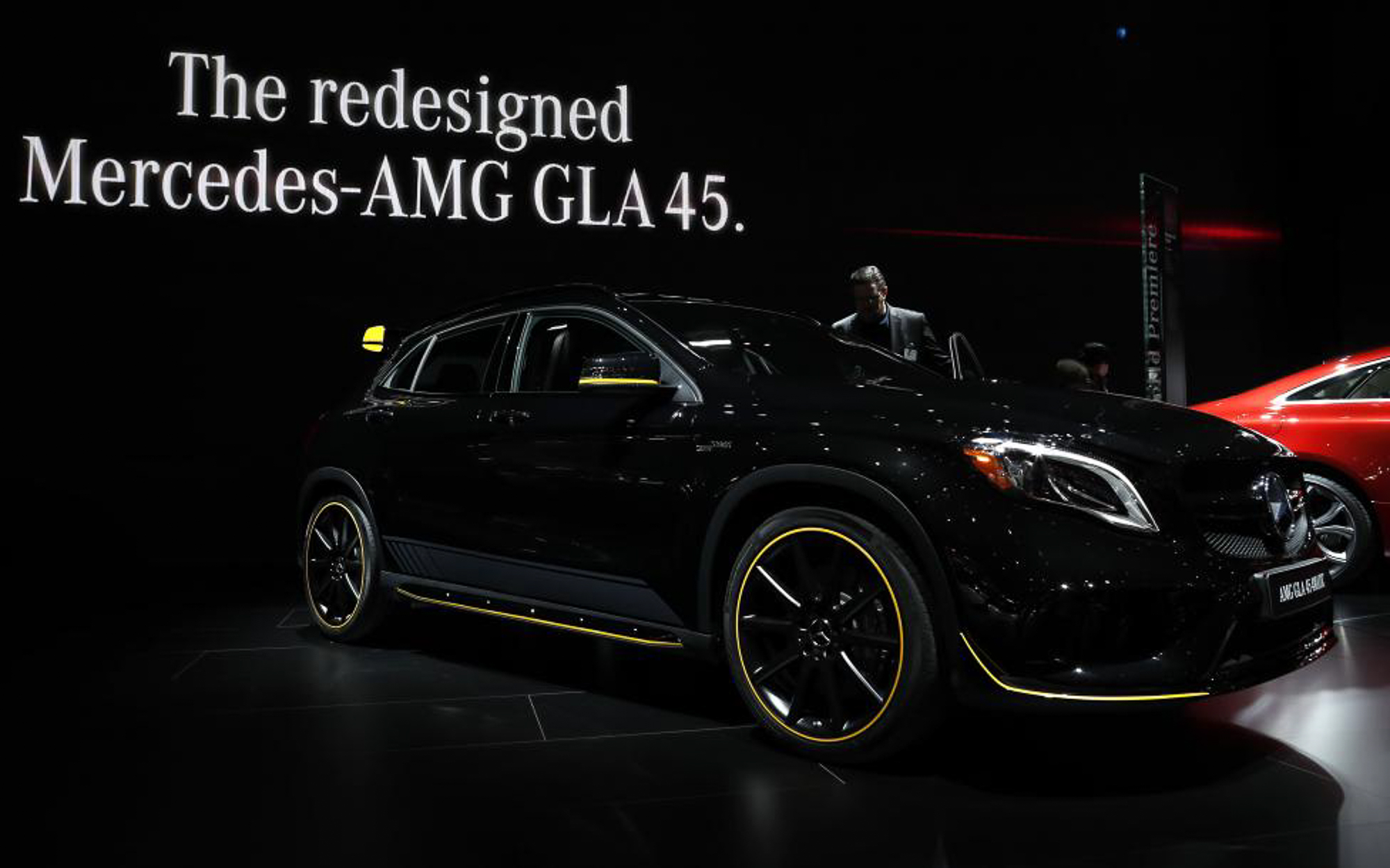 A 2018 Mercedes-AMG GLA 45. PHOTO: REUTERS