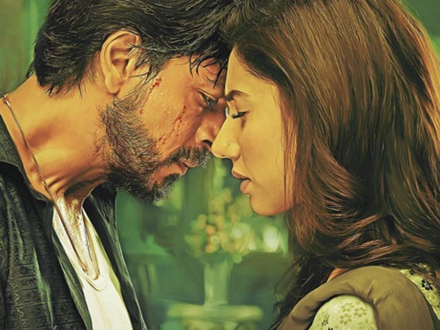 Poster of SRK, Mahira in Raees. PHOTO: INSTAGRAM